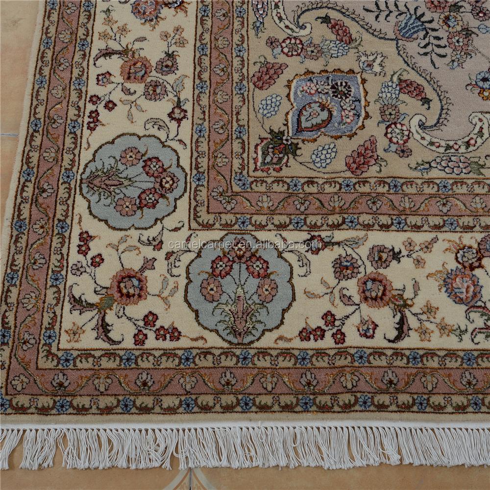 Hereke Silk Rug Youtube: Hereke Tapis De Laine De Soie Turc Oriental Main 8x10