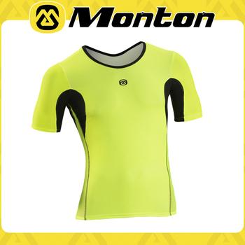 Monton Triathlon Fluorescent Yellow In Jonestin Fabric Cycling Jersey - Buy  Biking Kits Triathlon Apparel,Clothing For Race,Ride Road Jersey Product