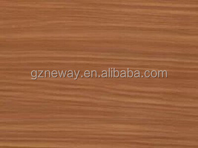 self adhesive paper for furniture/ wood grain vinyl sticker/ plastic sheet laminated door