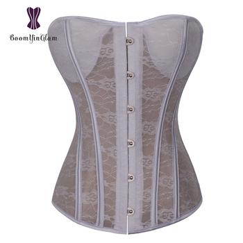 Steel Busk Saxy Semitranspa Fabric