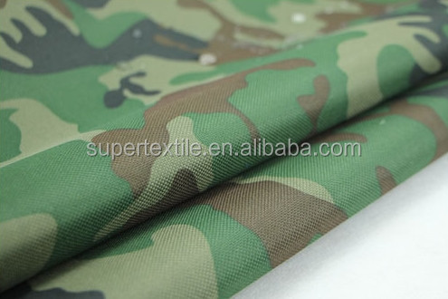 500D Cordura Fabric 100% Polyester, Oxford Fabric, Outdoor Army Print Fabric