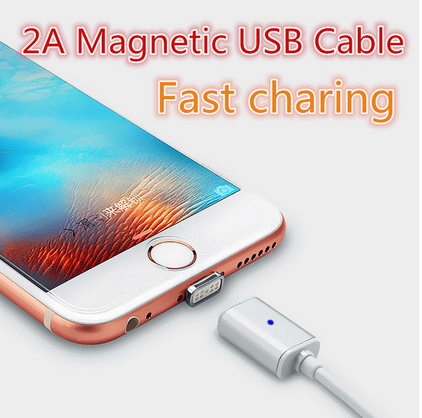 High Quality TPE Magnetic USB Phone Charger Cable for iPhone