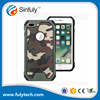 Phone Accessories Case 2016 Custom Design 3 in 1 Camouflage Heavy Duty Case for iphone 7 plus 6 6s 5 5s SE
