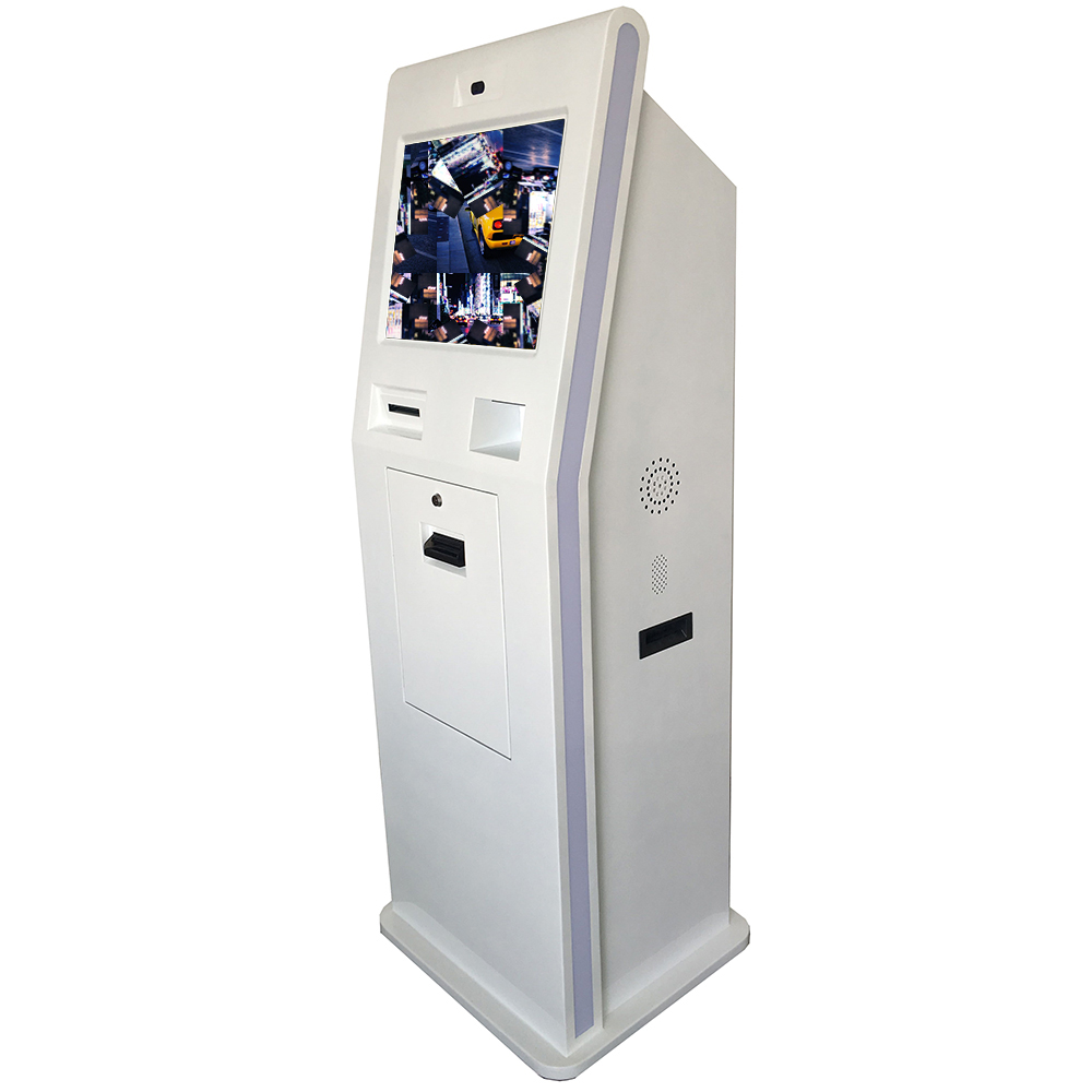 China factory for with thermal printer standalone touchscreen self-service mall kiosks design