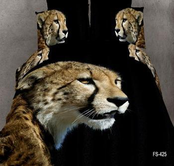 2017animal Tiger 3d Printing Beding Set Comfortable