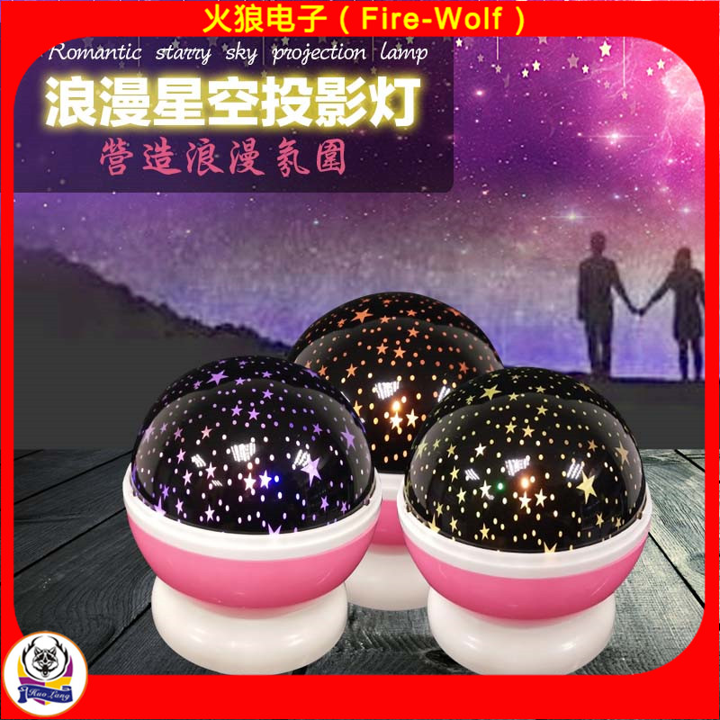 Color Changing LED Night Light Projector Night Light for Children and Adults Decorative Mood Light 2017
