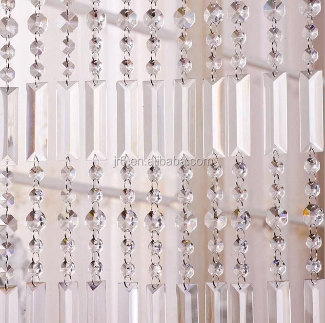 cristal rideaux pour fen tre d coration perles rideau perles en cristal verre id de produit. Black Bedroom Furniture Sets. Home Design Ideas