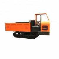 tracked carrier ,small agricultural crawler-type dump truck