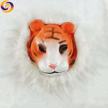 2019 Atacado Custom made new design galo animais máscara de tigre leão
