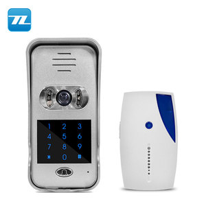 2-WAY intercom leave message home security camera system ip video intercom villa entry door TL-WF02