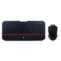 Sell Well Multi function USB Connection Wireless Mouse and Keyboard Combo