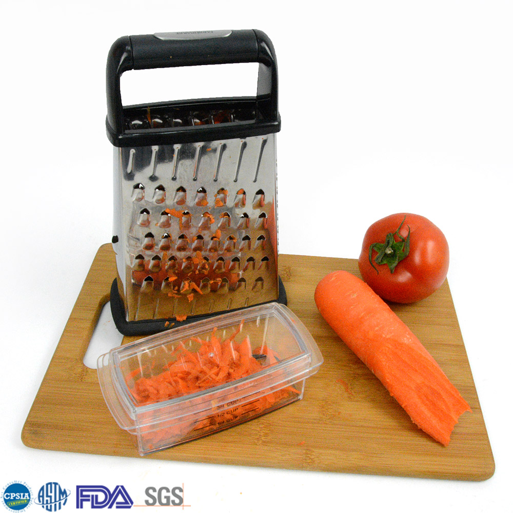 New Arrival Kitchen Shredder 4 Sides Easy Cheese Grater