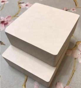 white color waterproof fire-resistance pvc foam board