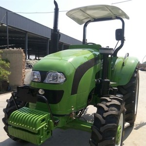 Cheap diesel farm tractors of 120 hp 4wheel drive farm tractor for farmland