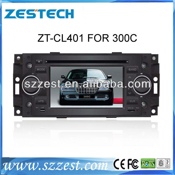 ZESTECH central multimedia Car DVD GPS for Chrysler 300C dvd player with radio gps navi, digital tv