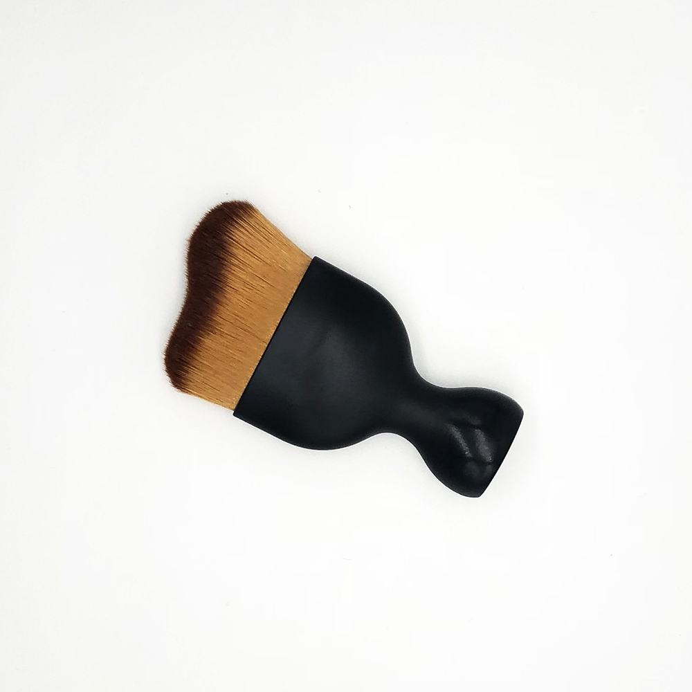 Single Synthetic Fiber Brush Private Label Liquid Foundation Makeup Brush