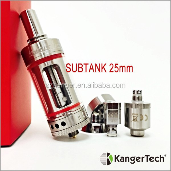 2015 New Mini RBA 100% Original Kanger Subtank Mini , Kanger Mini SUBTANK Atomizer, Colored O-Rings