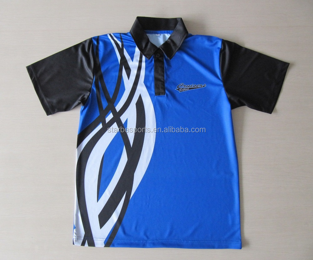 Shirt design new - Sublimation New Design Cricket Jerseys In T Shirt Cricket Team Jersey Design