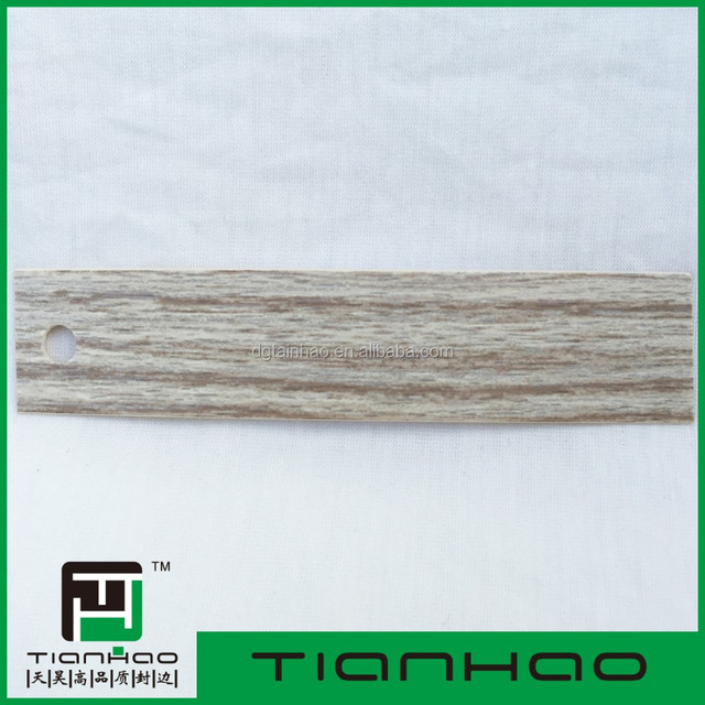 Tianhao Furniture Accessory Plastic Edge Banding Tape / PVC Edge Banding