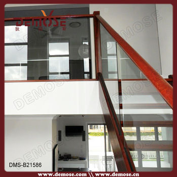 Exterior Handrails For Steps/stair Handrail Accessories/ Stair Glass  Railing Prices