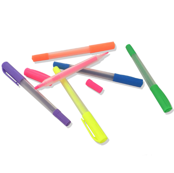 Office stationery paper work marking, advertising highlighter pen