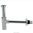 ABS Chrome Plating bathroomwash basin drain pipe