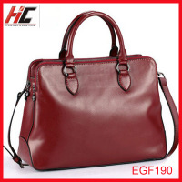 2013 trendy leather ladies bags genuine leather hand bag