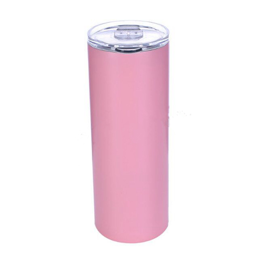 Creative Insulated Mug Stainless Steel Skinny Tumbler For Drinking Coffee and Water