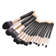 2018 hot sale good use 14pcs colorful magnetic makeup brush set