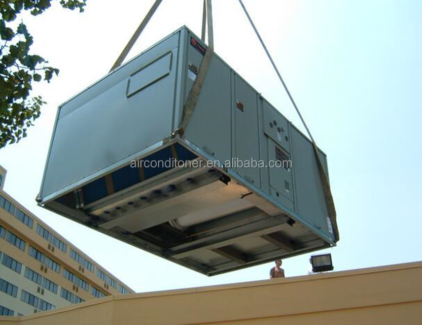 central air conditioner packaged rooftop unit with shope
