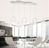 Postmodern metal acrylic finger ring fashion LED chandelier