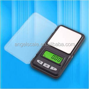 200g x 0.01g Pocket Jewelry Digital Scale Range Finder in Silver Brand New