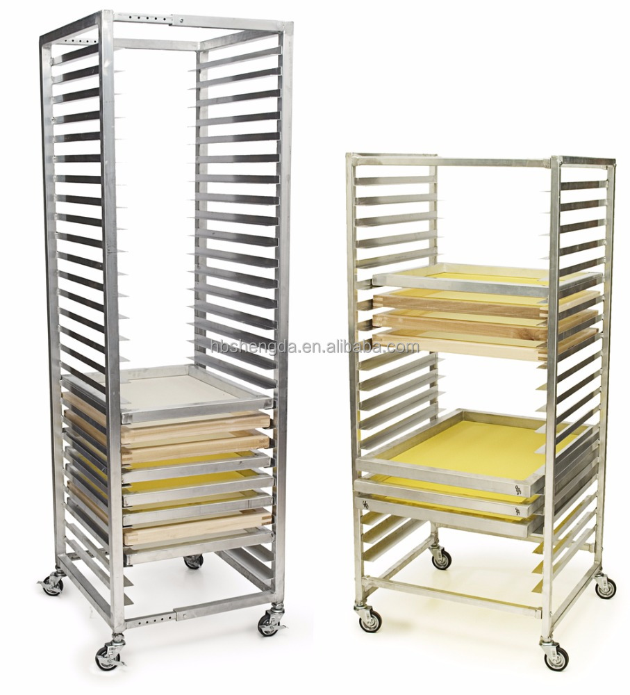 Screen Storage Racks : Screen printing rack cosmecol
