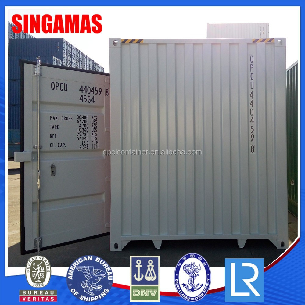 Factory Price Stainless Steel 40 Feet Half-Side Access Container