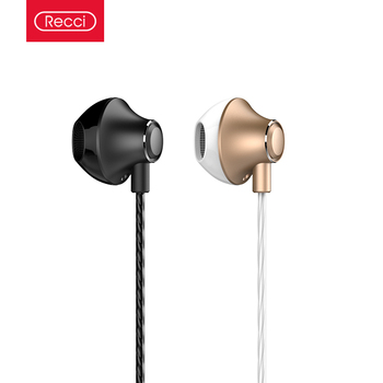 Recci hot selling sport noise cancelling earphone stereo headphones