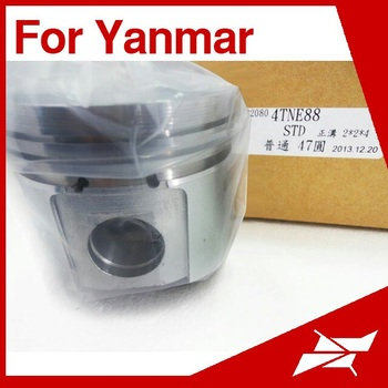 Shunming 4tne88 88mm Piston For Yanmar Excavator Engine - Buy 88mm Piston  For Yanmar,4tne88 Piston,Excavator Engine Piston Product on Alibaba com