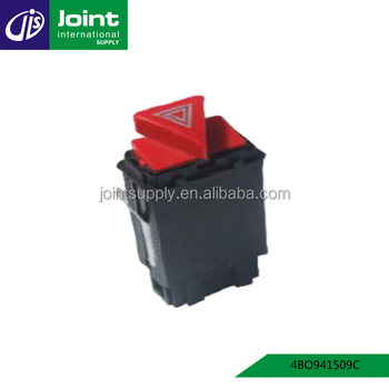High Quality Hazard Warning Lights Switch 4bo941509c For Audi A6 C5