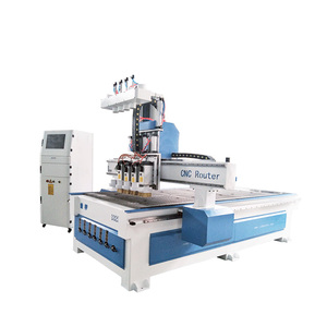 igoldencnc 1300*2500mm Multi-spindle automatic tool changer wood cutting machine