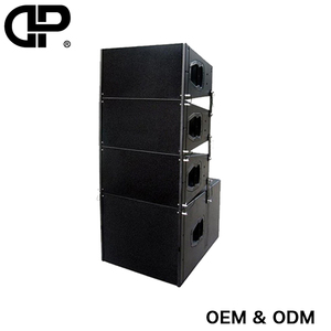 "Delixin Dual 10 inch line arraydj equipment with 18""speakers subwoofer Q1 tower line array speaker box"