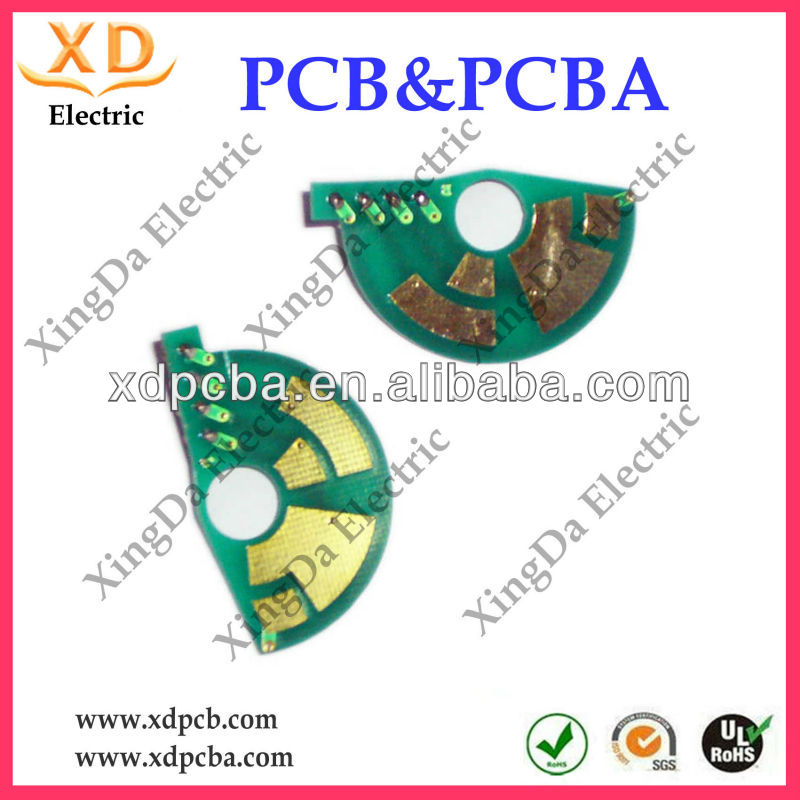 Double sided fm receiver pcb circuit board manufacturer