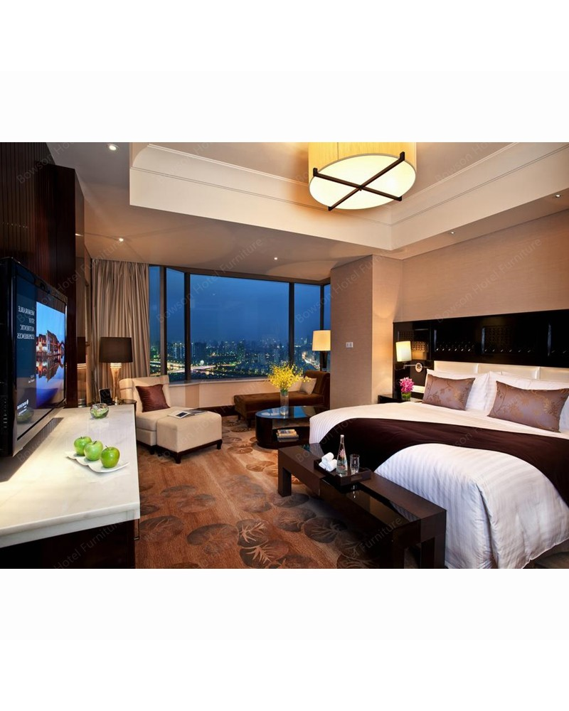 Hotel Room Furniture: Ethiopian Wyndham Hotel Apartment Suite Bed Room Furniture