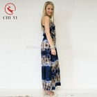 Custom evening party baju kaftan caftans de soie sleeveless beautiful printing women long maxi beach dress caftan en gros abaya