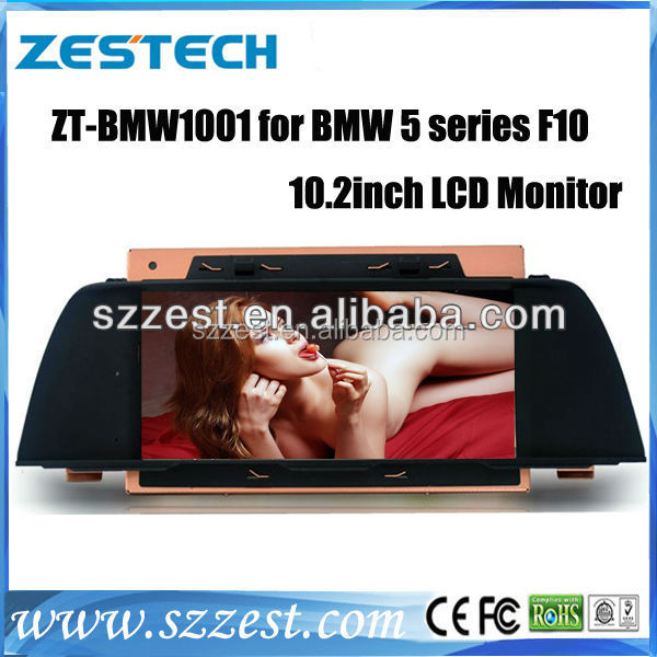 ZESTECH 2 din touch screen in-dash Car radio For Bmw 5 Series F10 with auto radio gps sat nav