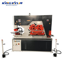 KK-90 Metal Sheet Steel Hole Punching Machine Inclinable Punch Press Machine