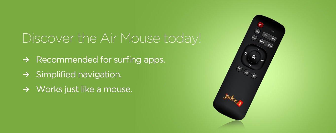 JADOO Air Mouse Remote control for Jadoo TV 4