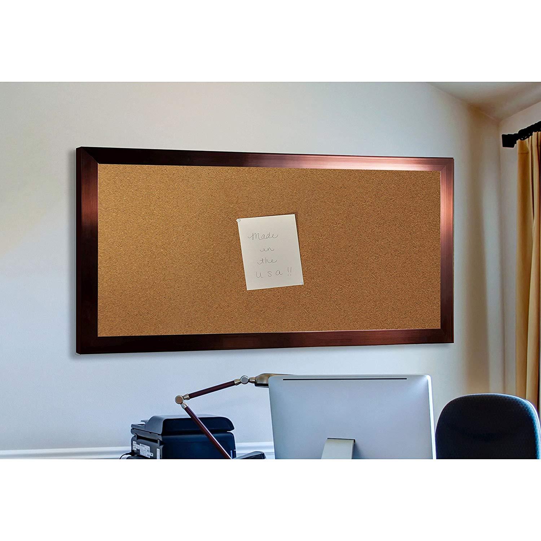 """Madilyn Nichole Shiny Wall Mounted Corkboard Size: 3' 10"""" H x 2' 10"""" W"""