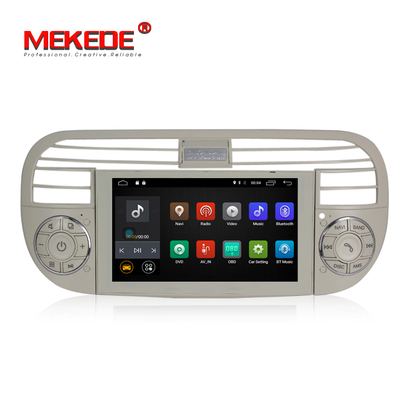 Auto Radio Car GPS Navigation Car DVD Player For F-IAT 500C Car Audio Stereo BT USB Multimedia WIFI MP3/MP4 CD Player