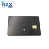 EMV Approved Diamond Luxury SLE4442 Contact Bank Credit Metal Cards