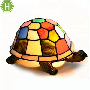 New E27 Bedroom Multicolor Turtle Animal Night Lamp With Different Design