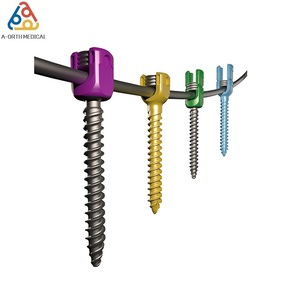 Reduction Polyaxial Pedicle Screw of Orthopedic Spine Bone Fixation Implant Spinal Titanium Surgical Screws Price